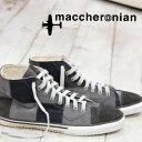 【 セール sale 】 maccheronian 2208 PT PATCH WORK GERY mix マカロニアン スニーカー sneaker グレー ミックス メンズ レディース