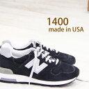 10/19再入荷 【 期間限定ポイント12倍 】【 こだわりの made in USA 】 正規品 new balance 1400 j.crew NV ネイビ...