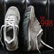 【 ポイント13倍 】 【 こだわりの made in USA 】正規品 ニューバランス M998 グレー new balance 998 USA アメリカ製