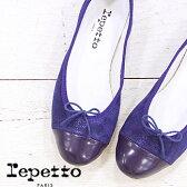 【 セール sale 】 国内正規品 repetto VX639GLVC CARGO ネイビー レペット FLORA フローラ スエード バレエシューズ 靴