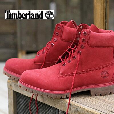 10/27新作入荷 【 日本正規取扱店 】 ティンバーランド 6インチ プレミアム ブーツ メンズ TB0A1149 RED NB Timberland 6INCH PREMIUM BOOTS MENS BOOTS 靴