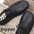 国内正規品 trippen 靴 SPOILER BLK-BK トリッペン レディース スリッポン