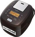 【中古】パナソニック 炊飯器 5.5合 可変圧力IH式 おどり炊き ブラウン SR-PA109-T