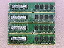 【中古】DDR2-667 PC2-5300 1GB デスクトップ用メモリ SAMSUNG
