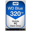 【中古】WESTERN DIGITAL WD Blueシリーズ 2.5インチ内蔵HDD 320GB SATA 5400rpm7mm厚 WD3200LPCX AV デジモノ パソコン 周辺機器 その..