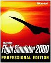 【中古】Microsoft Flight Simulator 2000 Professional - PC by Microsoft [並行輸入品]