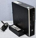 【中古】 Core i7 3770S 搭載 HP Compaq Elite 8300 US/CT Core i7-3770S(3.1GHz/最大3.9GHz) RAM:4G HDD:320GB DVDマルチ Win10 Pro/64bit 省スペース