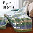 綿毛布 オーガニックコットン シングル 西川 日本製