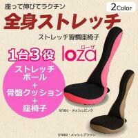 【き】ストレッチ習慣 LOZA メッシュタイプ 健康器具/座るだけで全身ストレッチ!
