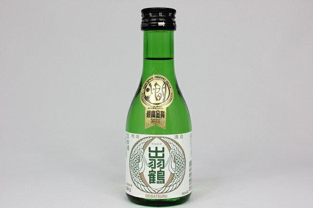 秋田 #大仙 秋田清酒 出羽鶴 芳醇 180ml