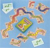 【メール便発送対応可能】ゲーム・虹色のへび(レインボースネーク)カードゲーム 2歳 3歳 4歳