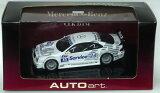 AUTOart 1/43ミニカー メルセデスベンツ CLK DTM 2000 #42 Darren Turner