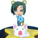 【中古】 セガ らき☆すた ミニディスプレイフィギュア1 04.成美ゆい(豹がら)