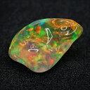 【宝石・ルース】メキシコ オパール(バロックオパール) Mexico Opal 2.91ct 【レインボー】【10月の誕生石】