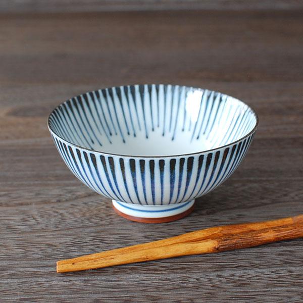 藍十草 飯碗(青)(中平) / ご飯茶碗 中平...の紹介画像2