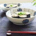 九谷青窯 三宅英雅 朱入り点描並木 6.5寸鉢 中皿