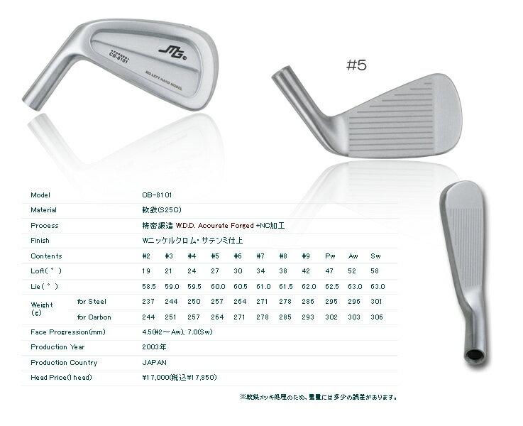 【カスタムオーダー】三浦技研CB8101+K's Tour 115【miura golf オンライン】:one2one