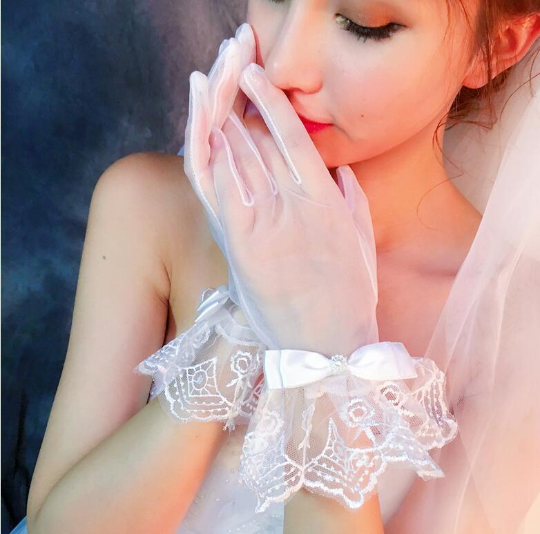 【メール便で送料無料】ウェディング ウエディング ブライダル ショート グローブ 手袋