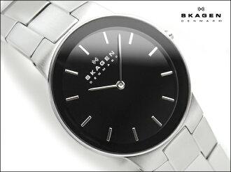 Scar gene thin men's watch black dial stainless steel belt 430LSXB1