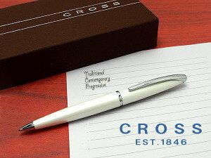 CROSSクロスエイティエックスボールペンボールペンパールホワイトラッカー882-38【楽ギフ_包装】
