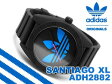 【adidas】アディダス SANTIAGO XL サンティアゴXL メンズ腕時計 ブルー ブラック ラバーベルト ADH2882【ネコポス不可】