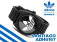 【adidas originals】アディダス オリジナルス SANTIAGO サンティアゴ メンズ腕時計 ブラック ホワイト ラバーベルト ADH6167【ネコポス不可】