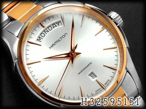 ハミルトン HAMILTON ジャズマスター デイデイト H32595151 メンズ 腕時計 ネコポス【】 送料無料  HAMILTON ハミルトン ジャズマスター デイデイト メンズ 腕時計 H32595151