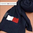 TOMMY HILFIGER トミー ヒルフィガー メンズマフラー ネイビー H8C73220-NV