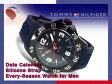 【TOMMY HILFIGER】トミー ヒルフィガー メンズ 腕時計 ダークネイビーダイアル ネイビー ラバーベルト 1790984