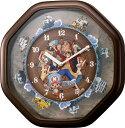 ワンピースカラクリ時計 掛時計 4MH880-M06【ネコポス不可】