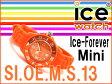 【商品レビューで3年保証】【ICE-WATCH】アイスウォッチ アイスフォーエバーミニ レディース 腕時計 オレンジ SIOEMS【ネコポス不可】