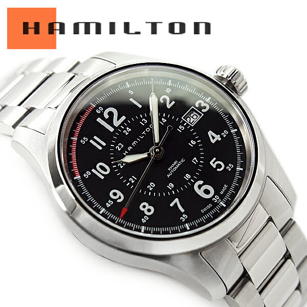 ハミルトン HAMILTON カーキ フィールド オート H70595133 腕時計 ネコポス【】 送料無料  HAMILTON ハミルトン カーキ フィールド オート メンズ 腕時計 H70595133