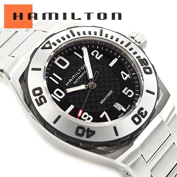 ハミルトン HAMILTON カーキ ネイビー H78615135 腕時計 ネコポス【】 HAMILTON ハミルトン カーキネイビー サブオート 30気圧防水 メンズ 自動巻き 腕時計 H78615135