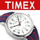 【並行輸入品】タイメックス ウィークエンダー セントラルパーク アナログ クォーツ 腕時計 ホワイトダイアル ネイビー×レッド ナイロンベルト T2N747 T2N747-H【ネコポス不可】【あす楽】