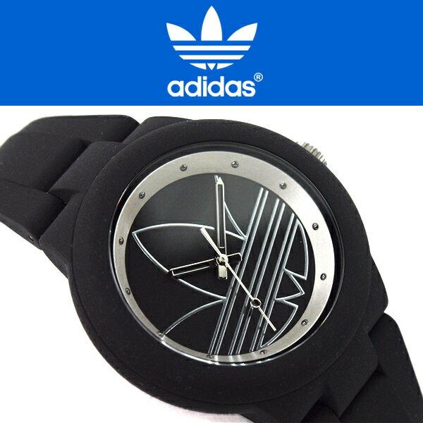 adidas originals アディダスオリジナルス ABERDEEN アバディーン メンズ レディース 腕時計 ADH3048 ブラック シルバー
