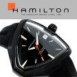 HAMILTON ハミルトン ベンチュラ VENTURA Elvis80 エルビス メンズ 腕時計 三角形 アナログ ラバー ブラック H24585331 スイス製