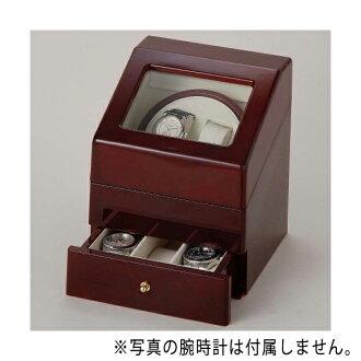 繞線機兩個手錶上鏈盒萬寶至馬達紅葡萄酒 KA073 WD KA073WD