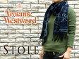 【Vivienne Westwood】ヴィヴィアンウエストウッド ヴィヴィアン レディース メンズ マフラー オーブ ネイビー F923-0002