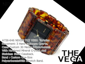 Nixon Womens watches THE VEGA Vega tortoise A726-646