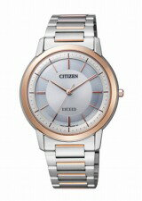 Is going to release it the Citizen EXCEED シチズンエクシードメンズ watch ecodrive thin silver pink gold AR4004-54A ※ middle of May; selling by subscription