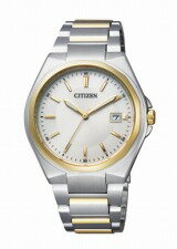 CITIZEN COLLECTION citizen collection mens watch eco-drive pair model Silver Gold BM6664-67P * mid-may release scheduled book sale