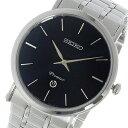 【逆輸入 SEIKO】逆輸入セイコー SEIKO プルミエ Premier クオーツ メンズ 腕時計 SKP399P1 ブラック