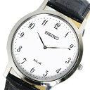 【逆輸入 SEIKO】逆輸入セイコー SEIKO ソーラー ユニセックス 腕時計 SUP863P1 ホワイト
