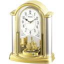 【SEIKO CLOCK】セイコー 置時計 ゴールド BY418G【ネコポス不可】
