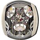 【SEIKO CLOCK】セイコー Disney ディズニー ミッキー からくり 電波掛時計 FW563A【送料無料】【ネコポス不可】