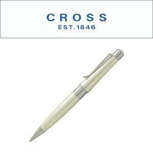 【CROSS】クロス BEVERLY べバリー ボールペン 油性 アイボリー AT0492-2 (ギフト/プレゼント/就職祝い/入学祝い/男性/女性/おしゃれ)