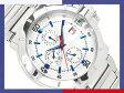 【TOMMY HILFIGER】トミー ヒルフィガー メンズ腕時計 ギョーシエシルバーダイアル シルバーステンレスベルト 1790471