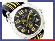 【TOMMY HILFIGER】トミー ヒルフィガー メンズ腕時計 ブラックダイアル ブラックラバーベルト 1790667