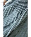 (グリーン)「cawaii」艶めく深みの緑に軽さプリーツスカート10月24日22時販売新作