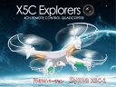 ◆送料540円◆即納◆ Syma X5C-1 アップグレードバージョン 予備バッテリー付 4GB SDカード付属 ドローン Drone 空撮 200万画素 6軸ジャイロ カメラ付 ラジコン ヘリコプター フルセット